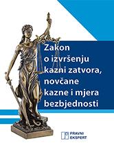Zakon o izvršenju kazni zatvora, novčane kazne i mjera bezbjednosti