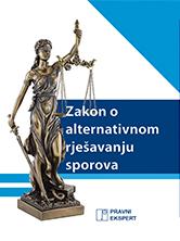 Zakon o alternativnom rješavanju sporova